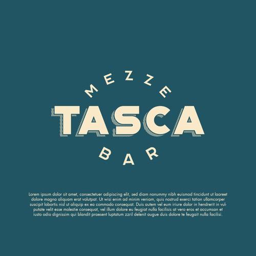 Tasca Mezze Bar Logo design