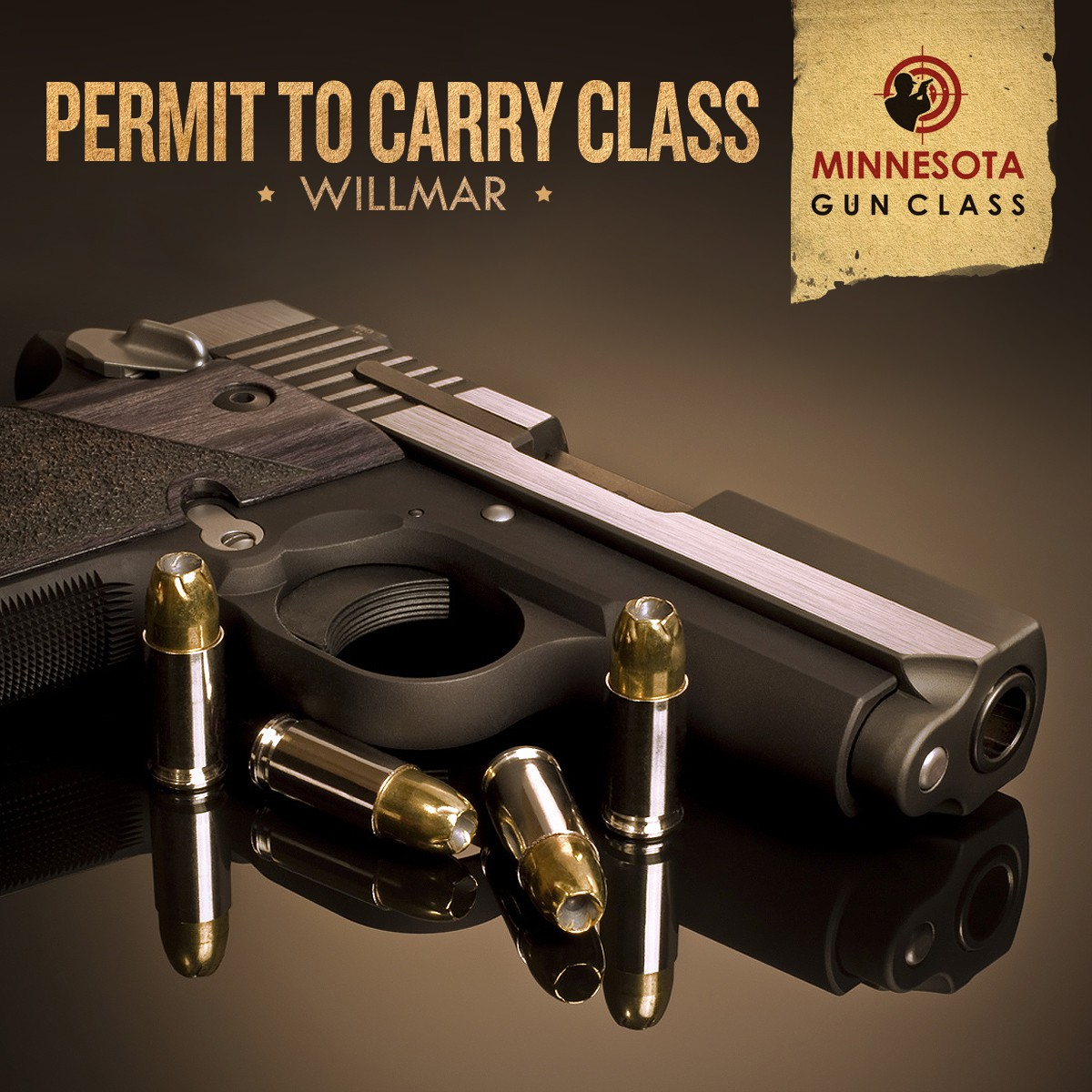 Facebook ad design for Permit to Carry Class - ad 11