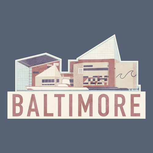 Baltimore Stickers