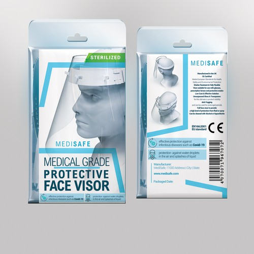 Medical Packaging Required - PPE Face Visor