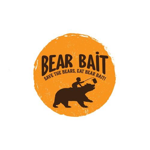Bear Bait logo design