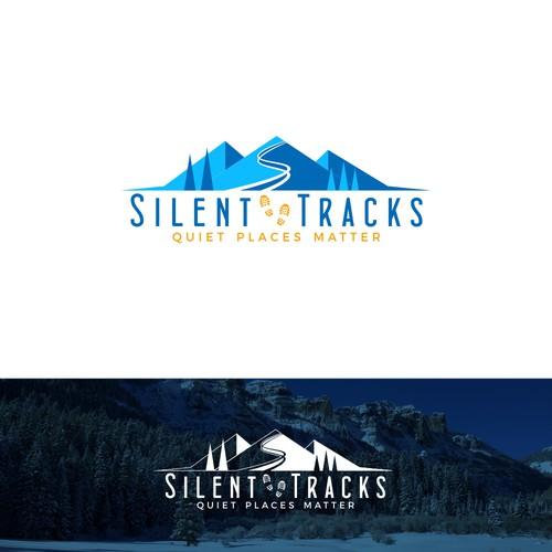 Winning logo for Silent Tracks