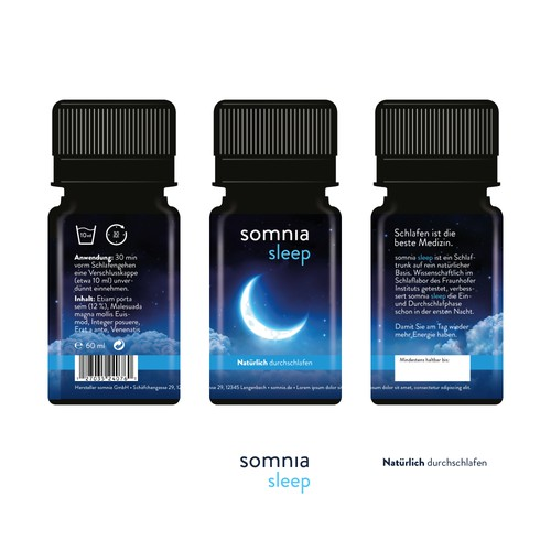 somnia sleep sleeping potion