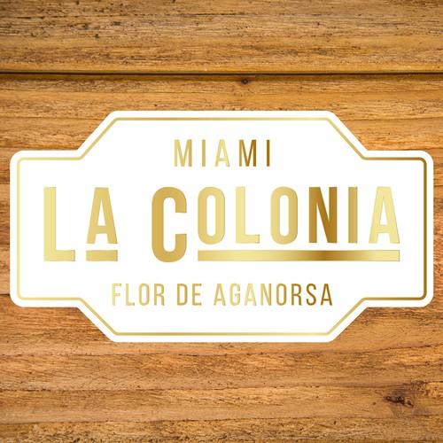 A new logo for La Colonia