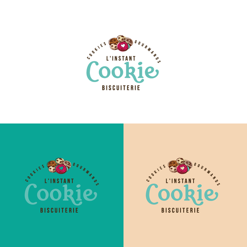 Logo concept for cookie gourmands