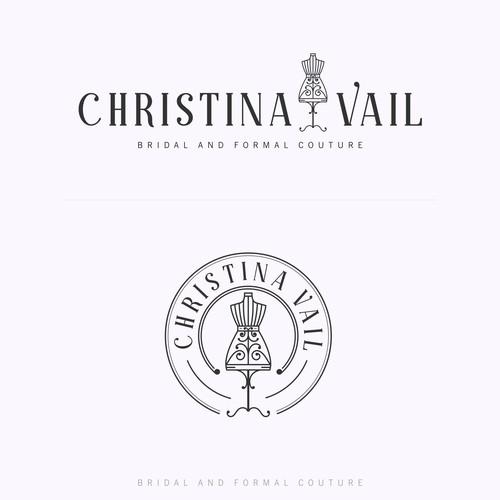 Logo concept for Christina Vail