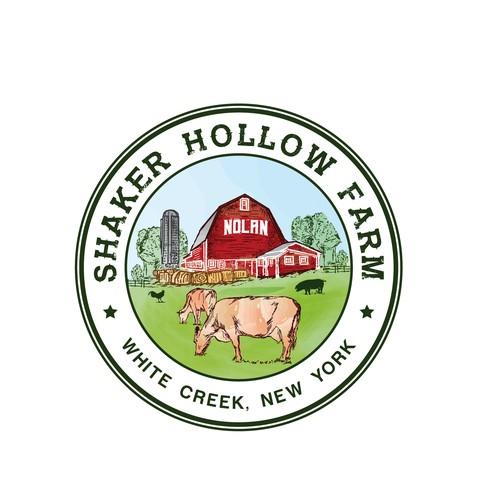 Circle Logo for Shaker Hollow Farm