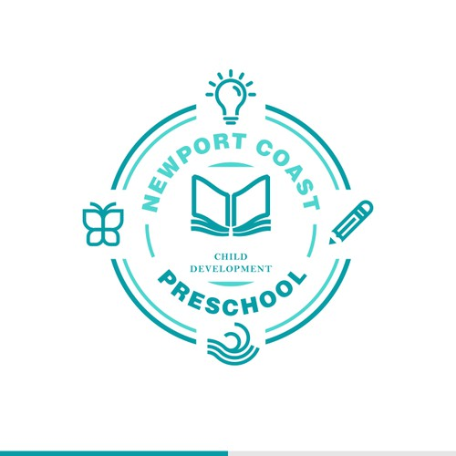 Clever logo for preschool development
