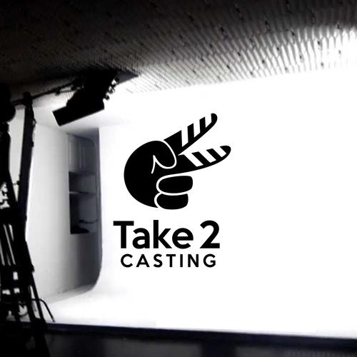 Logo concept for casting company
