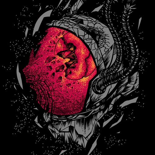 Artwork For Metal Band T-Shirt
