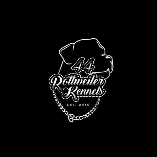 Sophisticated Logo concept for 44 Rottweiler Kennels