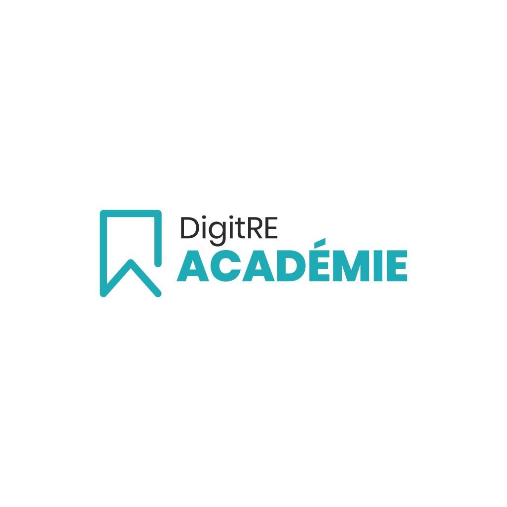 Logo for a training platform for real estate professionals
