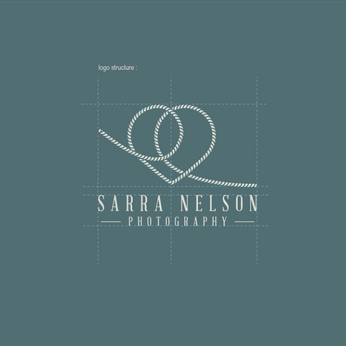 Logo Concept For Nautical Wedding Photographer