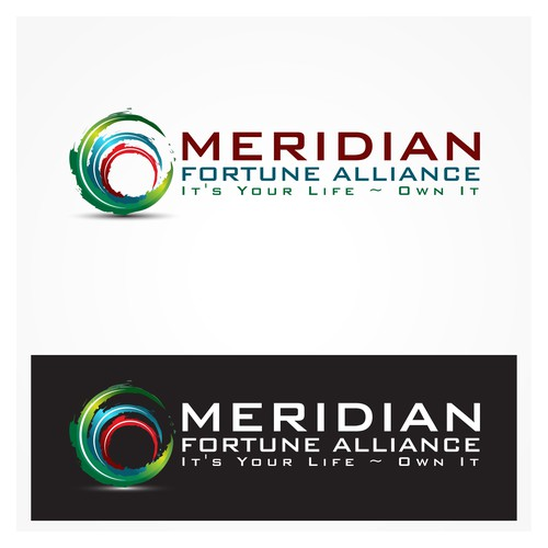 Create the next logo for Meridian Fortune Alliance