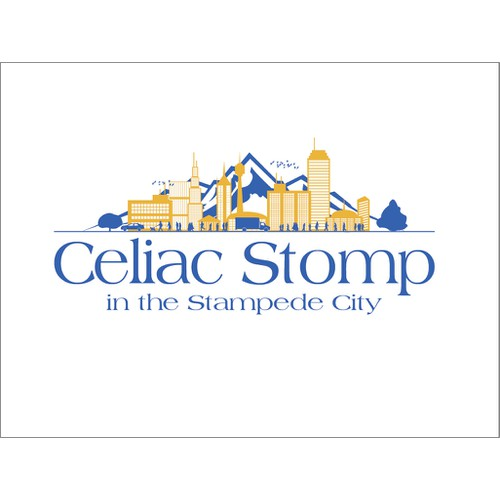 Celiac Stomp in the Stampede City needs a new logo