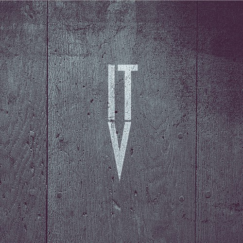 "ITV bar logo - A ""trail to find something to drink"" if you will."