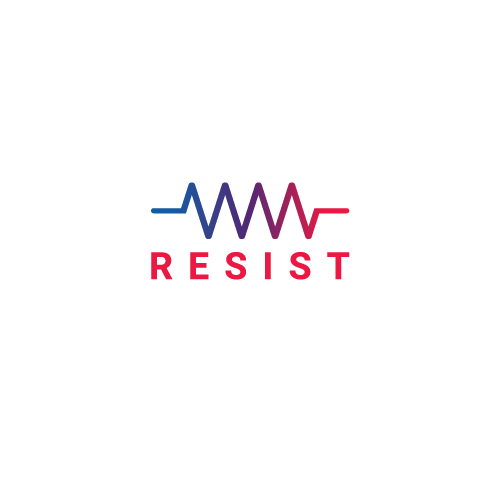 resist logo with resistor icon
