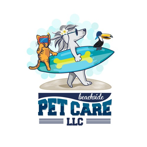 Logo Beachside Pet Care, LLC