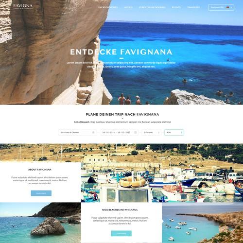 Site for Favignana Tourism
