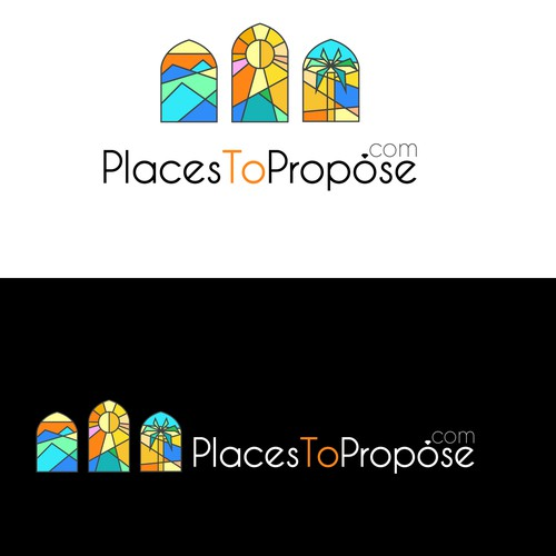 Logo concept for a proposal travel website