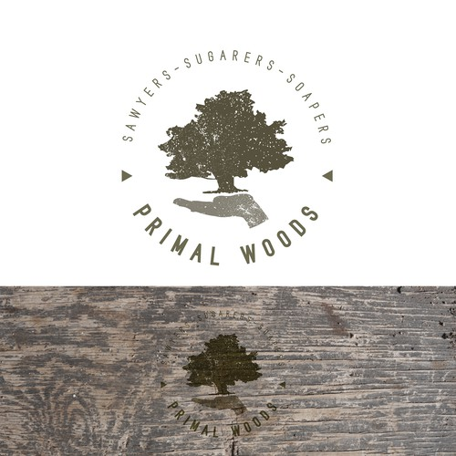 Logo for products that are natural and from the land