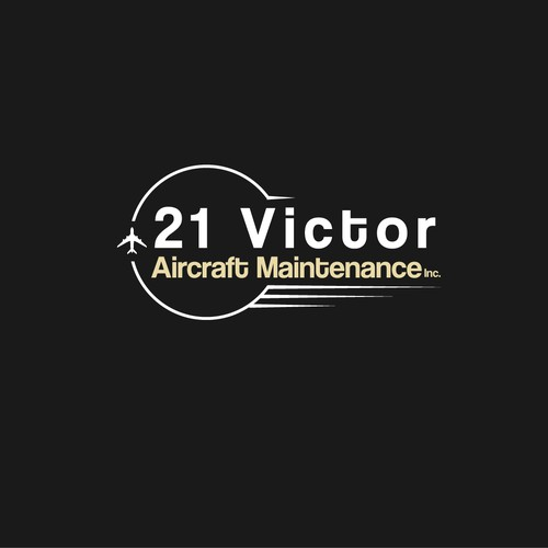 Logo concept for Aircraft maintenance