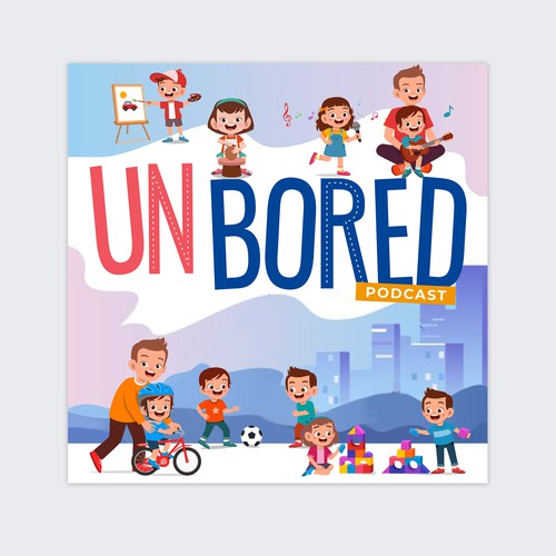 Podcast cover for UnBored