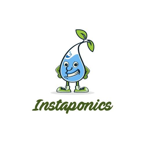 Instaponics Brand Creation