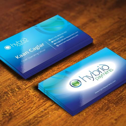 SIMPLE & ELEGANT looking business card.