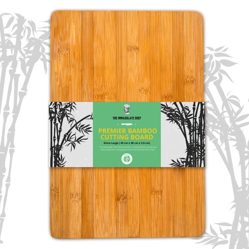 Label Design for Bamboo Cutting Board
