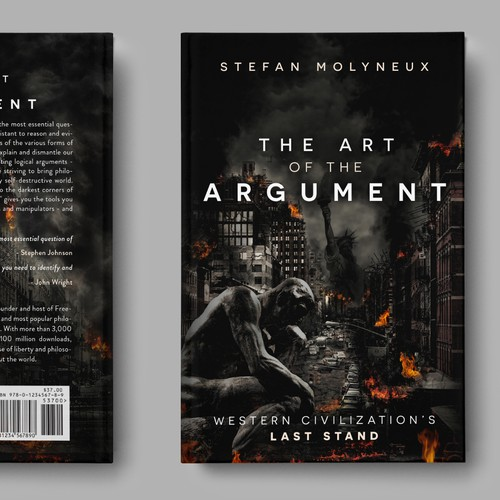 "Cover design for book ""The Art of the argument"""