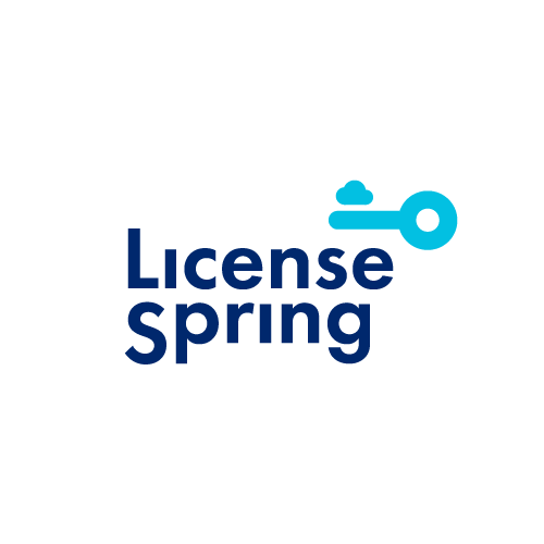License Spring logo entry