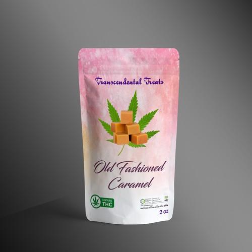 Cannabis Caramel Pouch Package