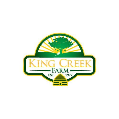 Create a new logo for King Creek Farm