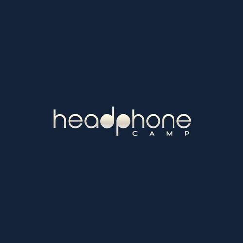 Logo concept for online headphones shop.