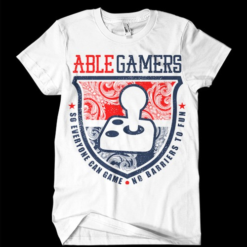 Design T-shirts for High-profile gaming charity.