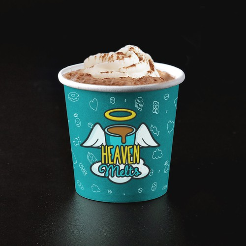 Heaven Melts Logo & Cup Design