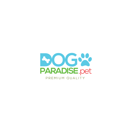 Friendly logo for pet oriented e-commerce