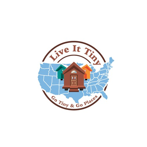 Logo concept for Live It Tiny
