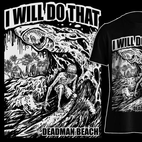 DEADMANS BEACH  SKELETON SURFER