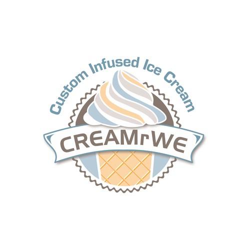 Logo for Ice cream company
