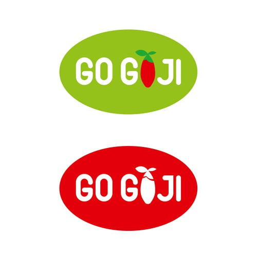 Logo iterations for a company Go GOJI.