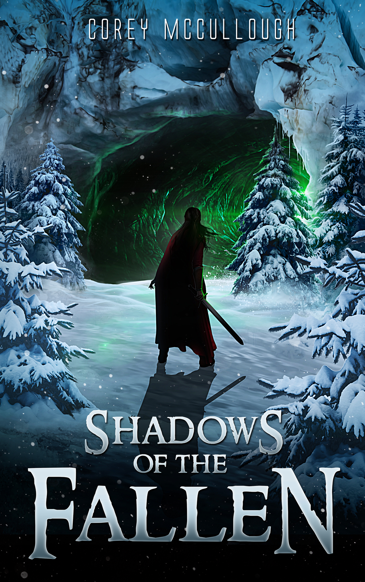 "Book Cover for Book 3 of The Fallen Odyssey: ""Shadows of the Fallen"""