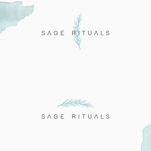 Sage Rituals Logo Design