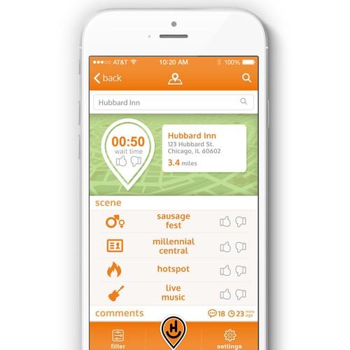 hanghere app design 2
