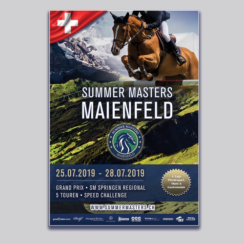 Flyer for Equestrian Event