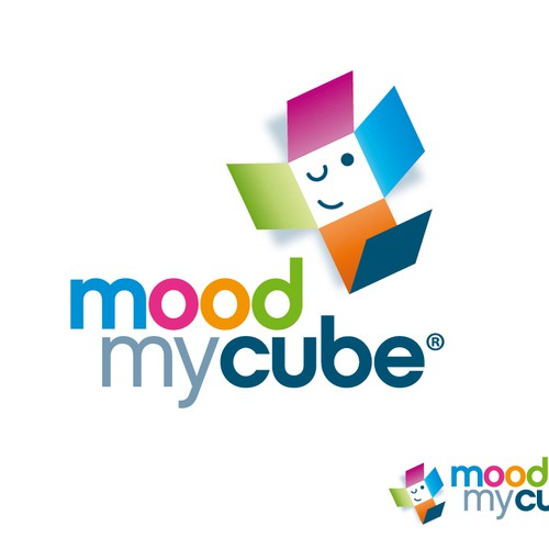 Create the next logo for 'mood my cube'