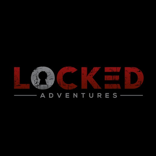 logo for locked adventures