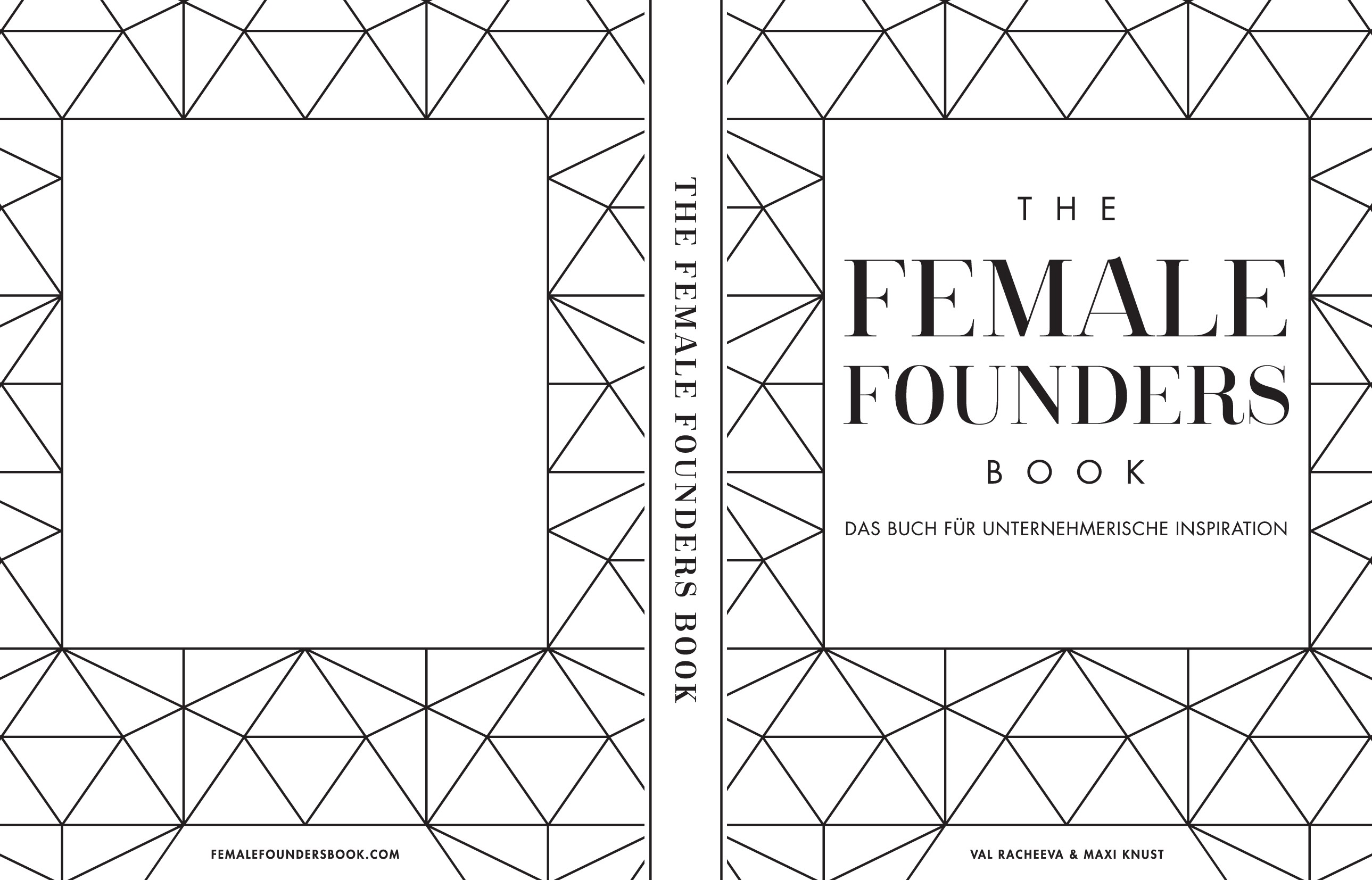 Minimal, beautiful & modern book cover design needed for the Female Founders Book