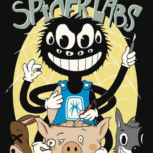 T-shirt design for SpiderLabs